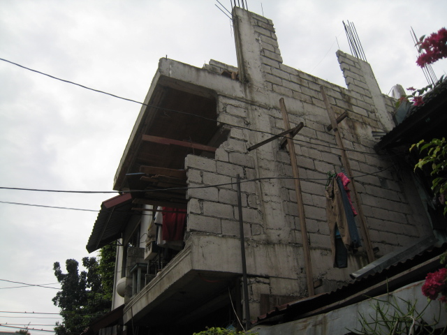 Four Storey Residential Building (Cubao, Quezon City) - On-going Img_5020
