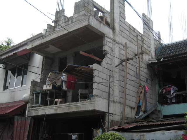 Four Storey Residential Building (Cubao, Quezon City) - On-going Img_5021