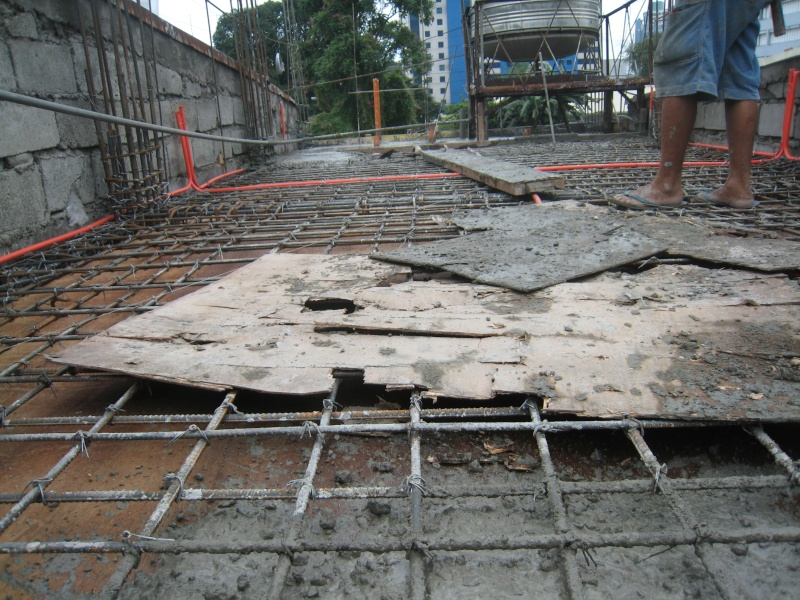 Four Storey Residential Building (Cubao, Quezon City) - On-going Img_5024