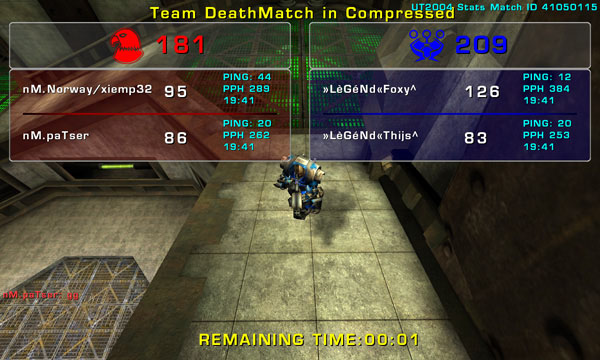 Match »LèGéNd« vs nM Sunday 02 November 2008 21:00 hours CET (iTDM Fallcup 5th match 2 vs 2) Legend14