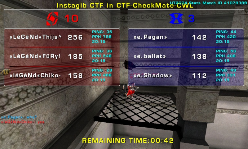 Match »LèGéNd« vs CCG Tuesday 04 November 2008 21:00 hours CET (Laddermatch 3 vs 3) Legend15