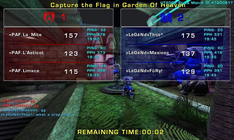 Match »LèGéNd« vs PAF Wednesday 19 November 2008 21:00 hours (ladder 3 vs 3) Legend17