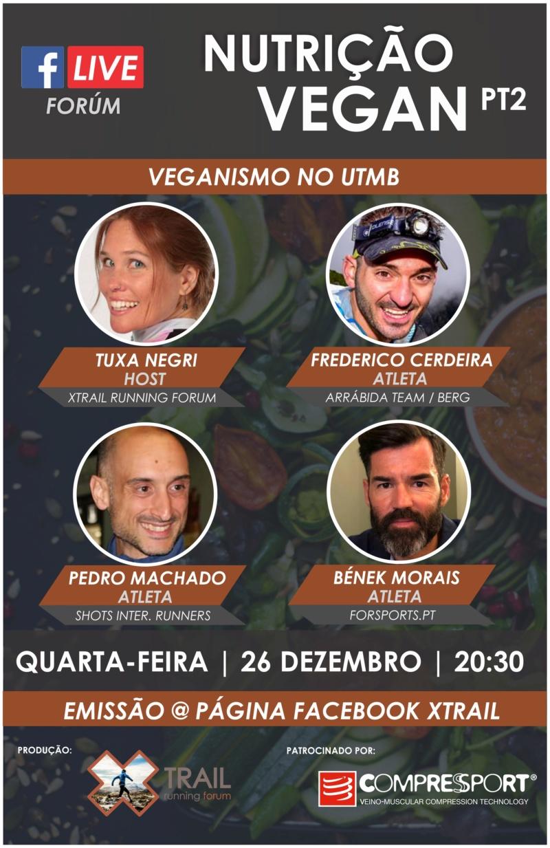 [Forum em directo] Nutrição Vegan Pt2 Banner45