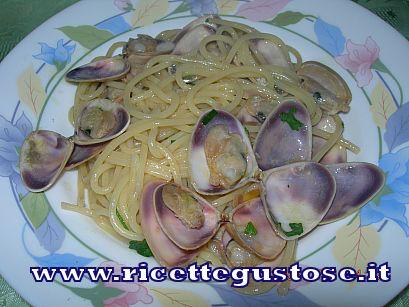 Spaghetti alle arselle Spaghe10