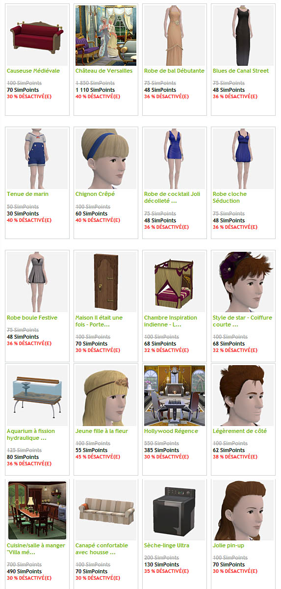 [Sims 3] Les promos (et vos envies) sur le store - Page 20 Promos10