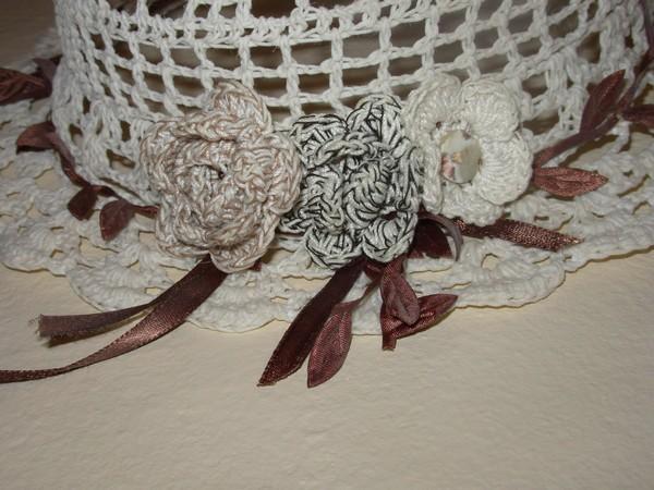 chapeau au crochet Rdv13110