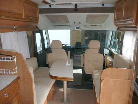 RAPIDO 9086 DF Intégral à vendre 2008 32000KM VENDU! 00187p11