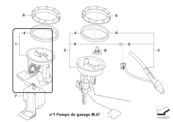 bmw e46 320d an 1998   ne demarre plus sans star pilote