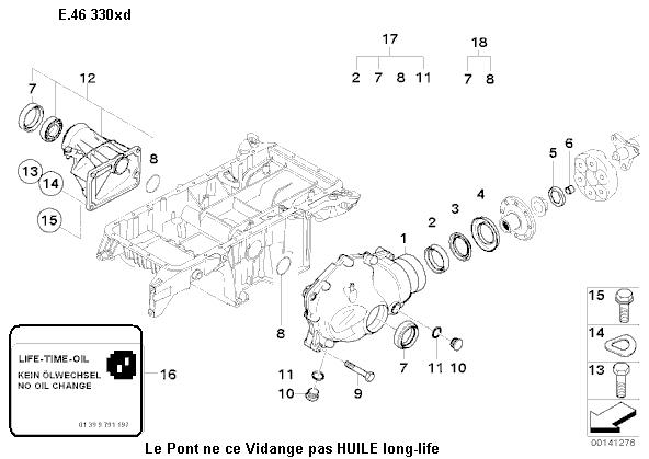 [ bmw e46 330xd bvm6 pack luxe an 2003 ] probleme cardan gauche 31_pon10