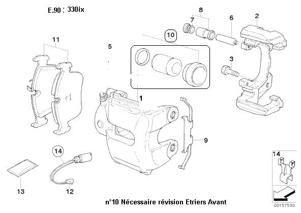 [ BMW e90 330xi an 2006 ] Vibration avant gauche, usure disque anormale 34_e_910