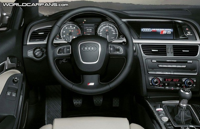 Speculations: Audi S5 V8 Engine to be Downgraded to Supercha 20702215