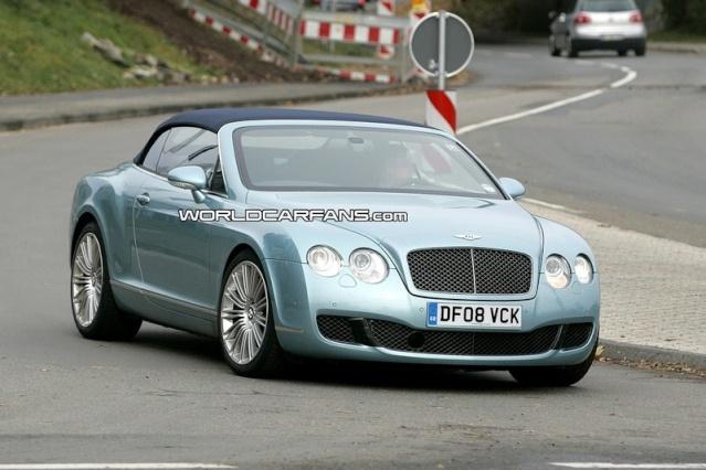 Bentley Continental GTC Speed Spy Photos 90810210