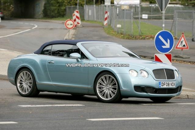 Bentley Continental GTC Speed Spy Photos 90810211