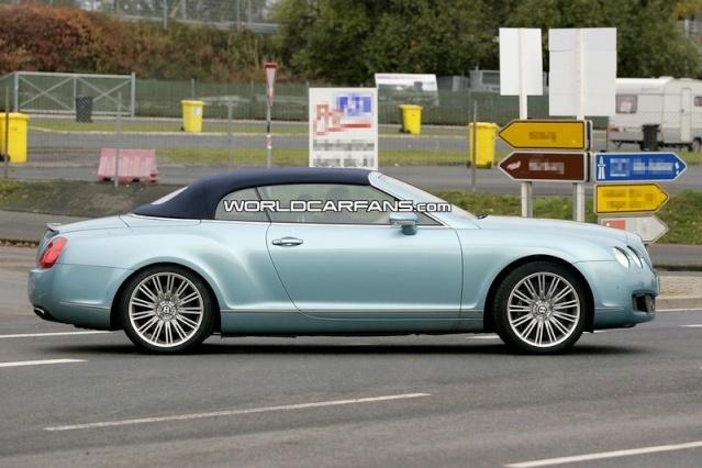 Bentley Continental GTC Speed Spy Photos 90810212