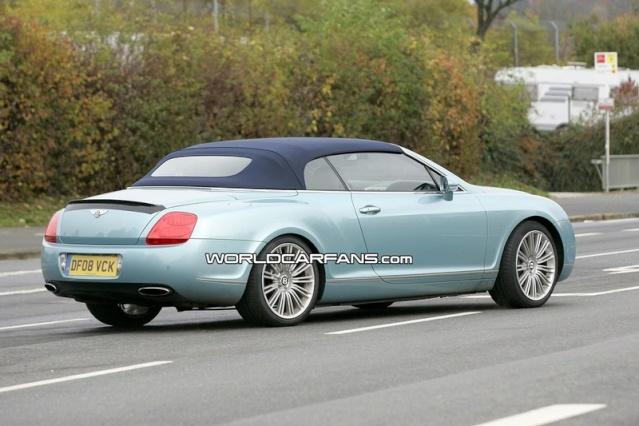 Bentley Continental GTC Speed Spy Photos 90810213
