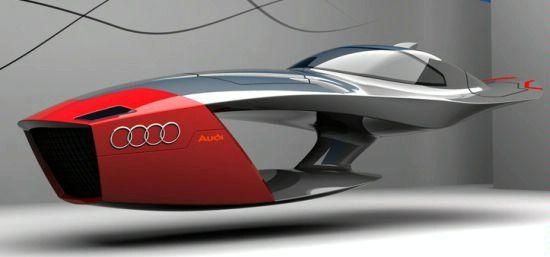 Designer Exercise: Audi Calamaro Flying Concept Car 90810264