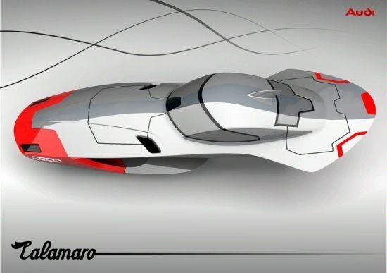 Designer Exercise: Audi Calamaro Flying Concept Car 90810265