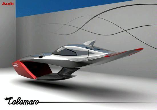Designer Exercise: Audi Calamaro Flying Concept Car 90810266