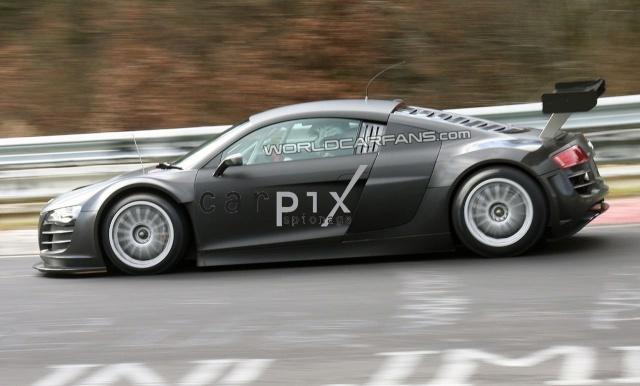 Audi R8 Race Version Set for World Debut at Essen Audi-r20