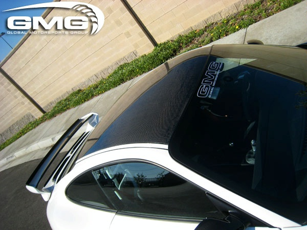 Porsche GT3 carbon fiber roof transplant by GMG Racing Gmg-wo20