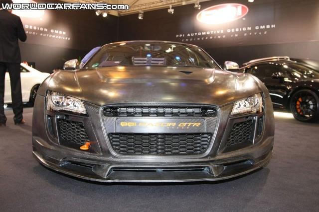 PPI Razor GTR based on Audi R8 Debuts at Essen Ppi-ra12