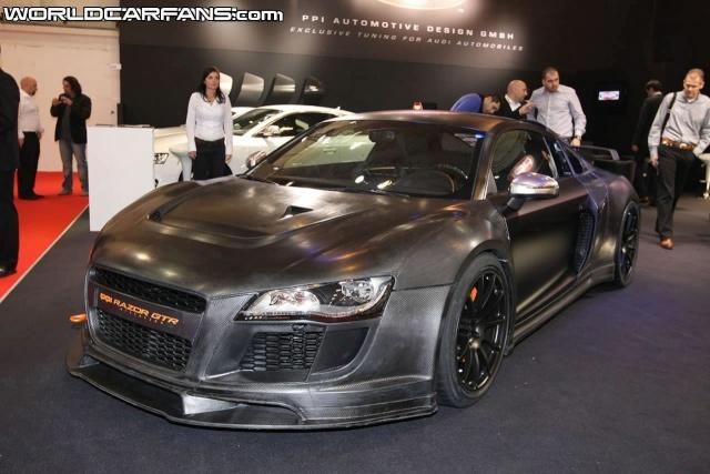 PPI Razor GTR based on Audi R8 Debuts at Essen Ppi-ra13