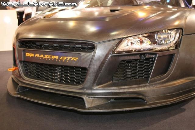 PPI Razor GTR based on Audi R8 Debuts at Essen Ppi-ra14