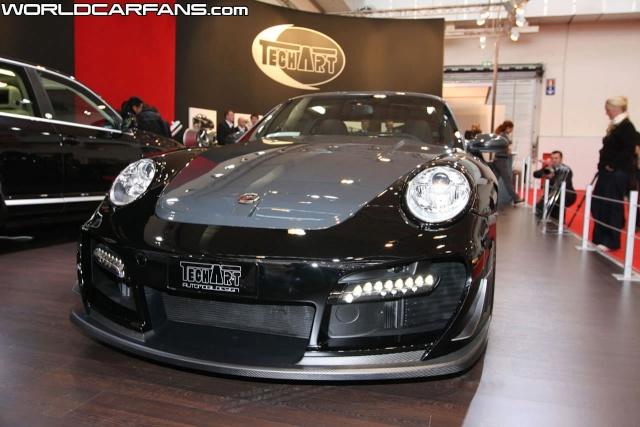 Techart GTstreet R Unveiled at Essen Motor Show Techar13