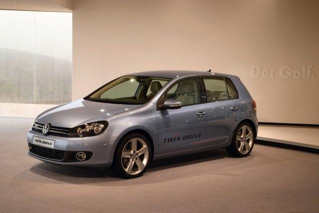 VW reveals Golf VI TwinDrive plug-in hybrid prototype Vw-gol11