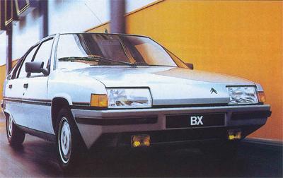 Photos officielles BX GT 84-gt10