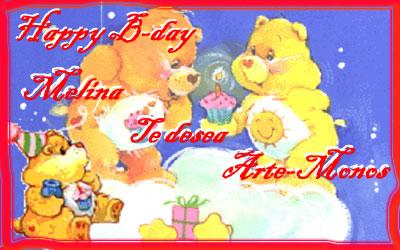 Feliz Cumpleaños!!! Melina10