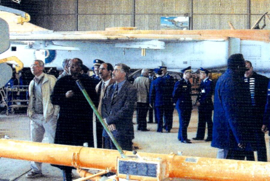 الطائرة المقاتلة المتعددة المهام السو-24  (SU – 24 (Sukhoi Numari59