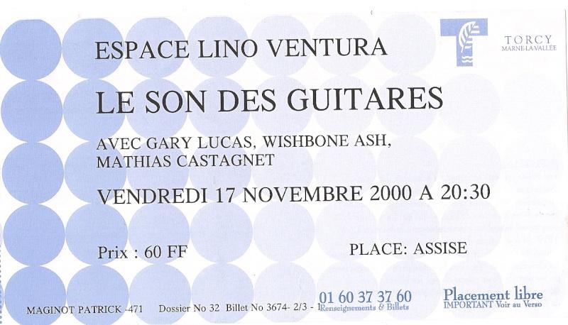 Vous avez encore vos vieux tickets de concerts du Ash ? Numari10