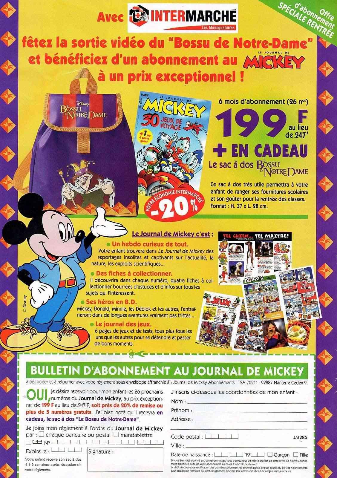 "la folie ""LE BOSSU DE NOTRE DAME"" disney 1997 Img01110"