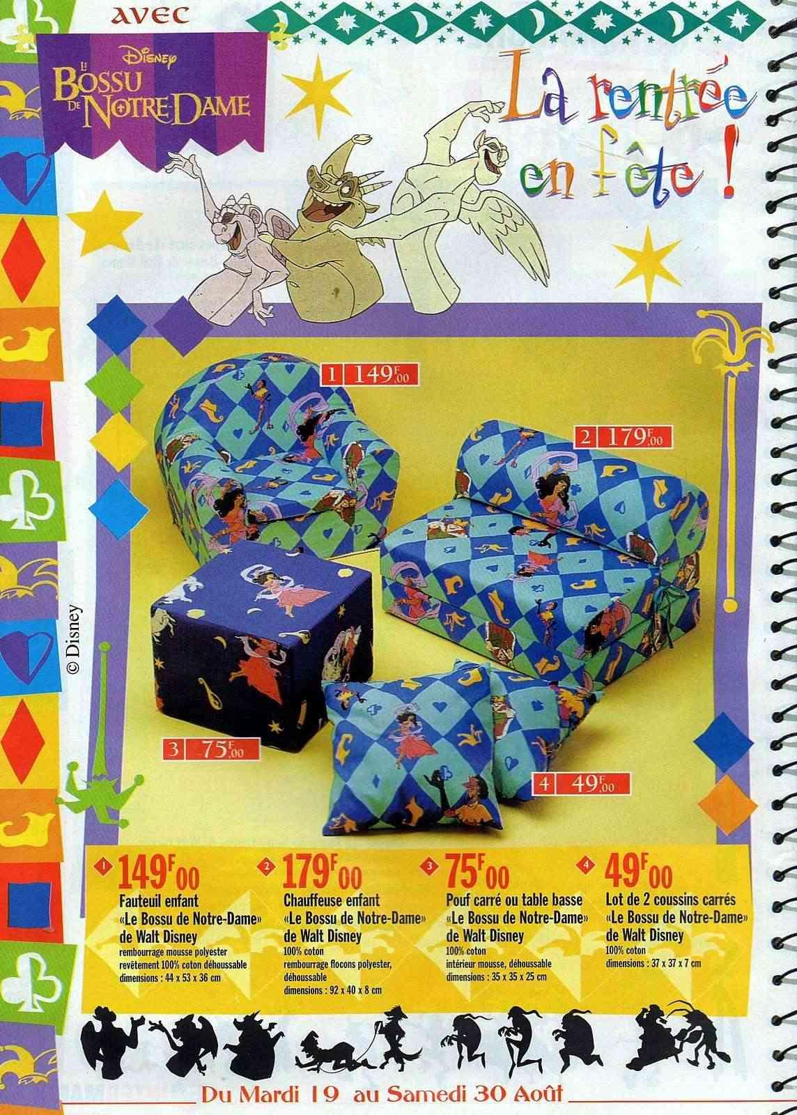 "la folie ""LE BOSSU DE NOTRE DAME"" disney 1997 Img01210"