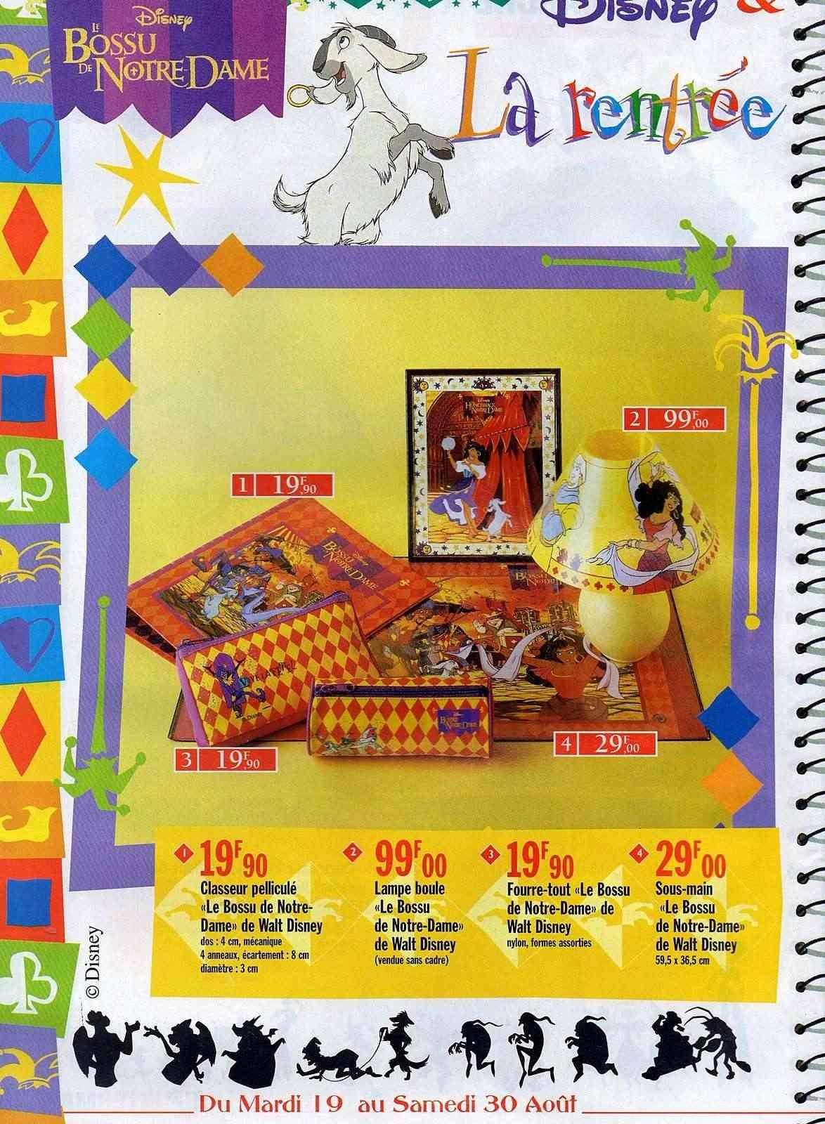 "la folie ""LE BOSSU DE NOTRE DAME"" disney 1997 Img01410"