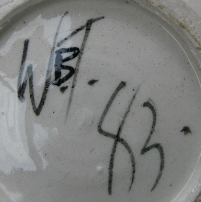 Ahem thanks to the Kiln Gods I found 2 Warren Tippett plates!! Tippet11