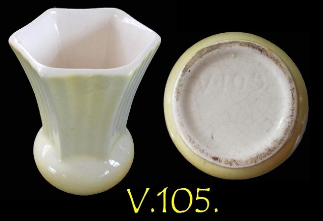 V.105 small vase from haselnuss - was made by Titian Studio V10510