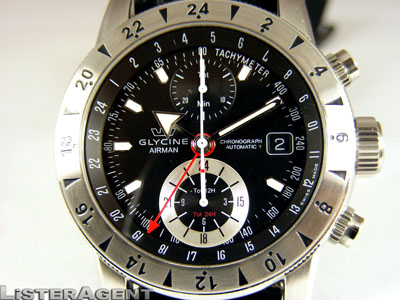 GLYCINE Airman 9 Cronograph Bru_1410