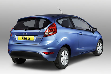 Ford Introduces 63.6 MPG ECOnetic Diesel Fiesta... Only in Europe 11ford10