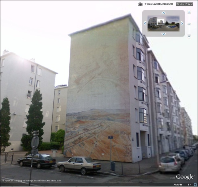 STREET VIEW : les fresques murales en France Quarti12