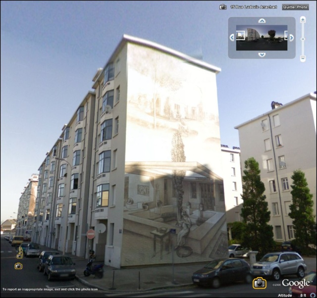 STREET VIEW : les fresques murales en France Quarti13