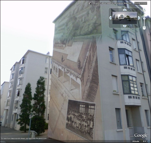STREET VIEW : les fresques murales en France Quarti14