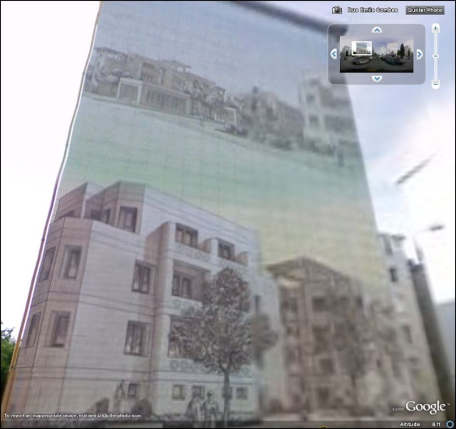 STREET VIEW : les fresques murales en France Quarti16