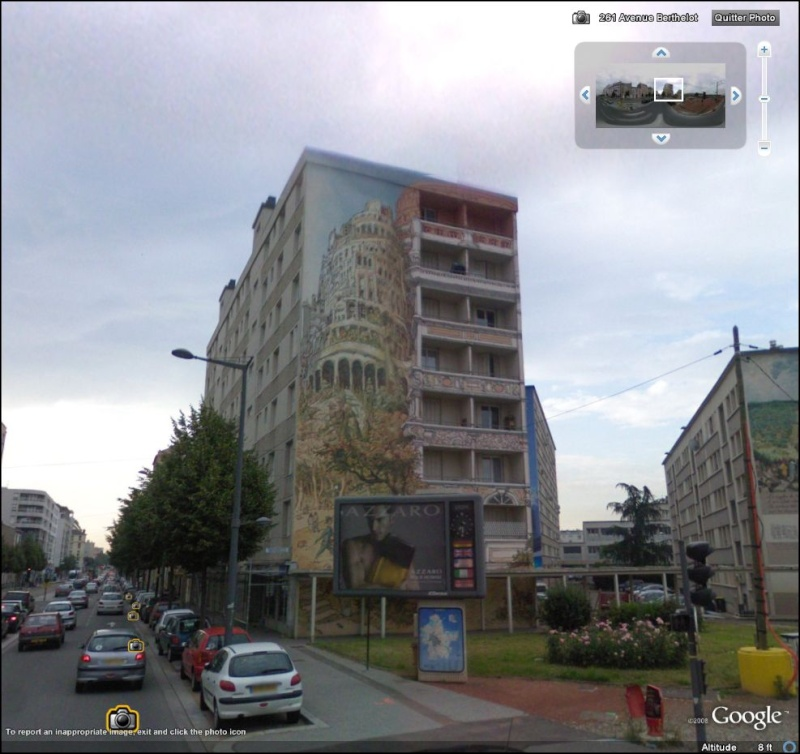 STREET VIEW : les fresques murales en France Tour_b10