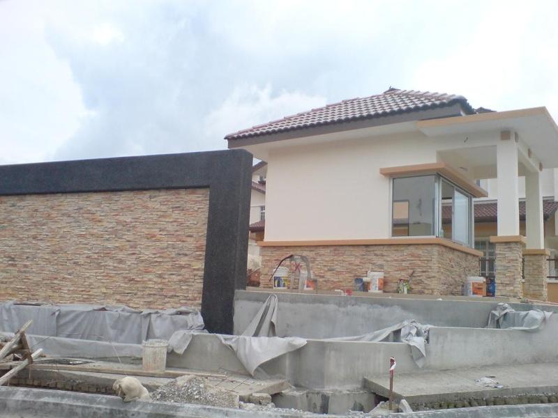 Snapshots on house entrance works. Dsc01114