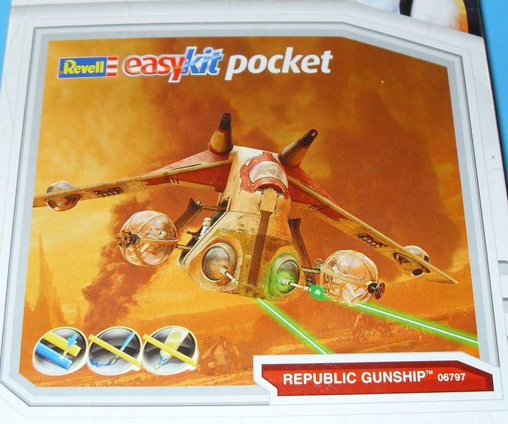 Star Wars the Clone Wars Republic Gunship von Revell 0110