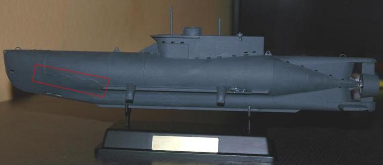 U Boot XXVII Seehund in 1/35 K800_d10