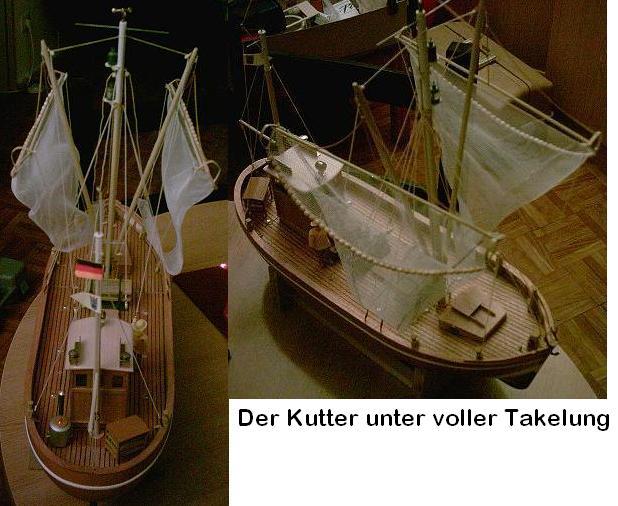John´s Krabbenkutter Tön 12 von Graupner Fertig Kutter17