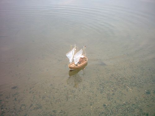John´s Krabbenkutter Tön 12 von Graupner Fertig Kutter22